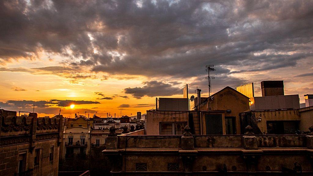 Barcelona terrats sortida sol