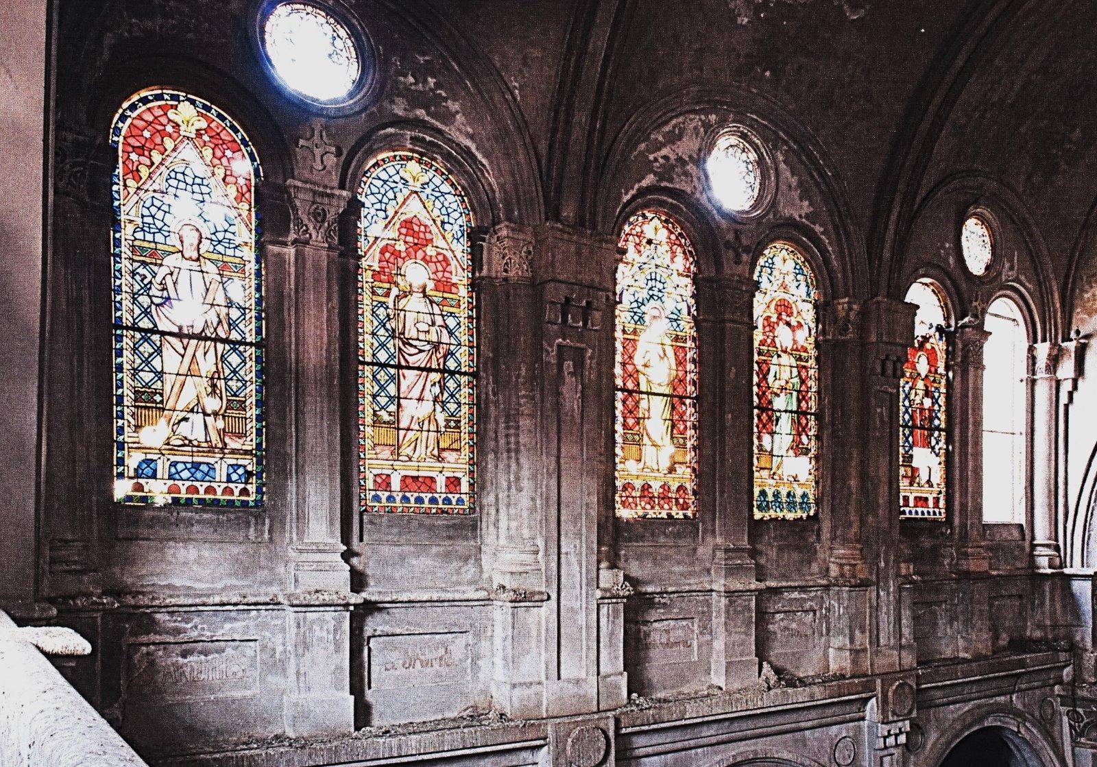 vitralls església mental