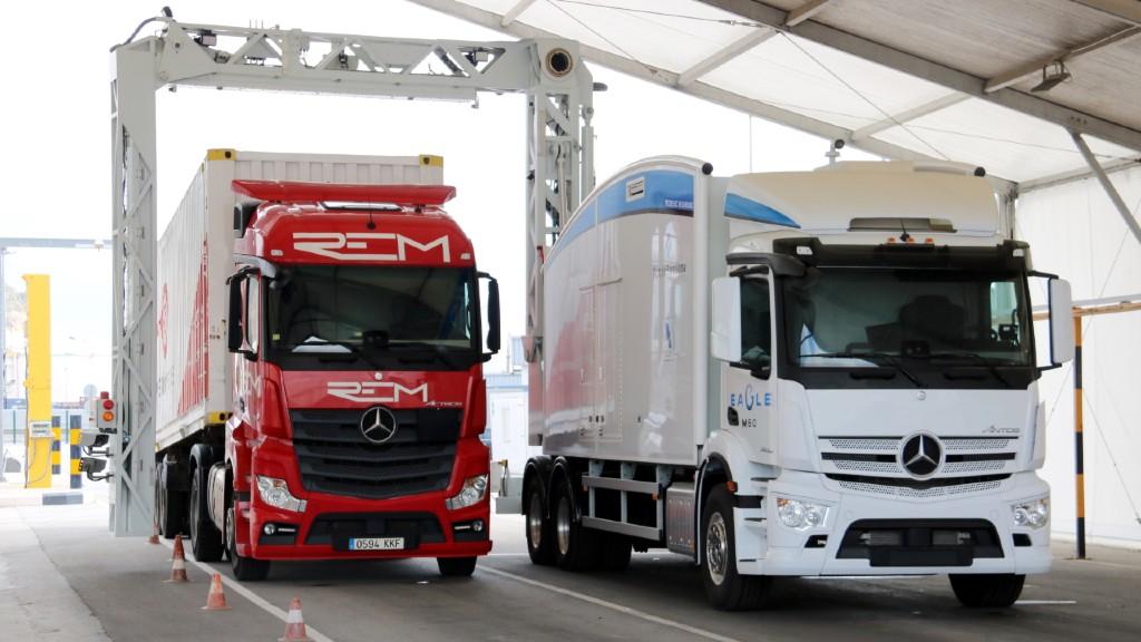 Nou escàner contenidors al port