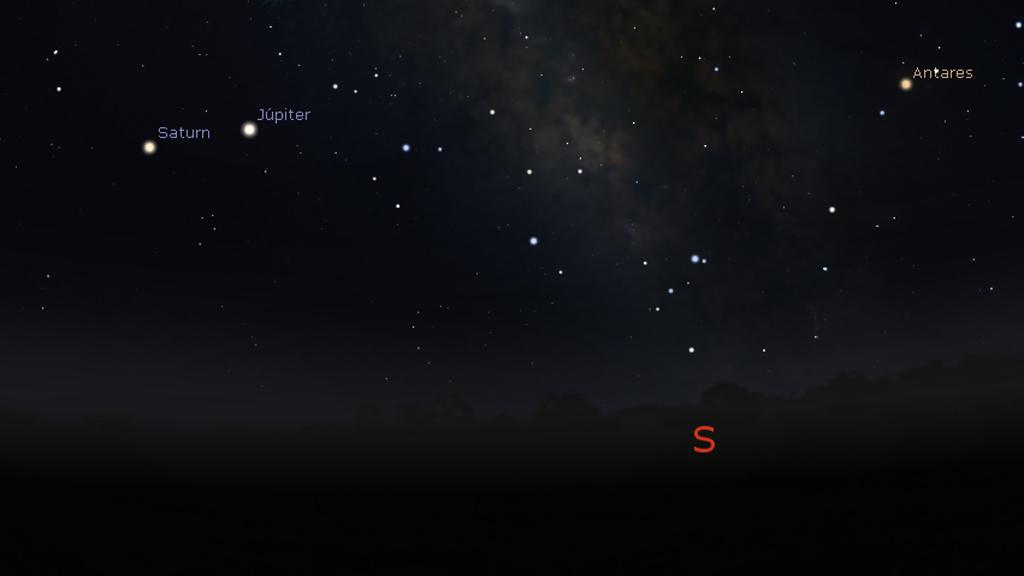 jupiter stellarium