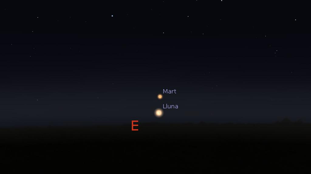 Mart stellarium