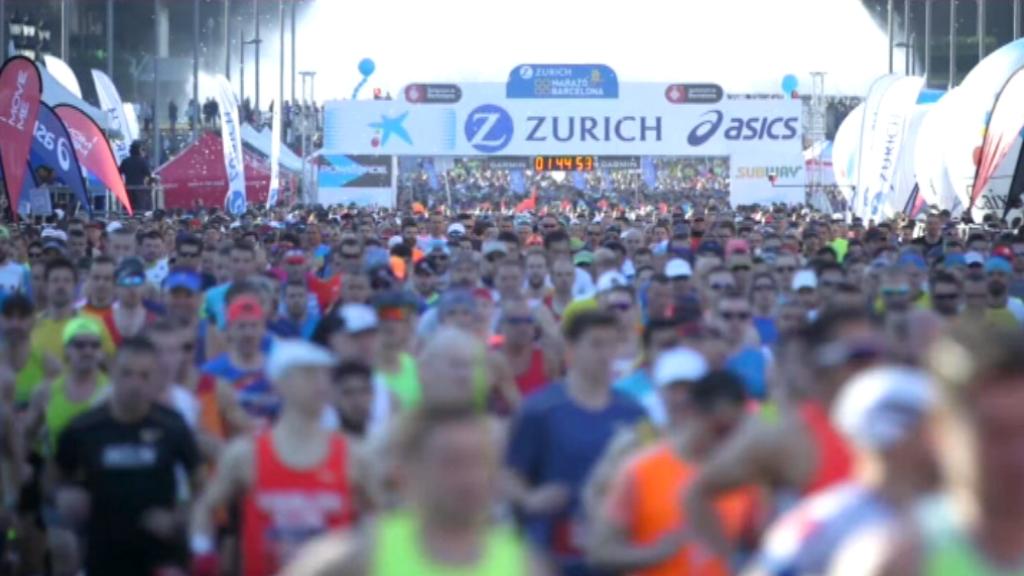 Marató de Barcelona 2020 sortida