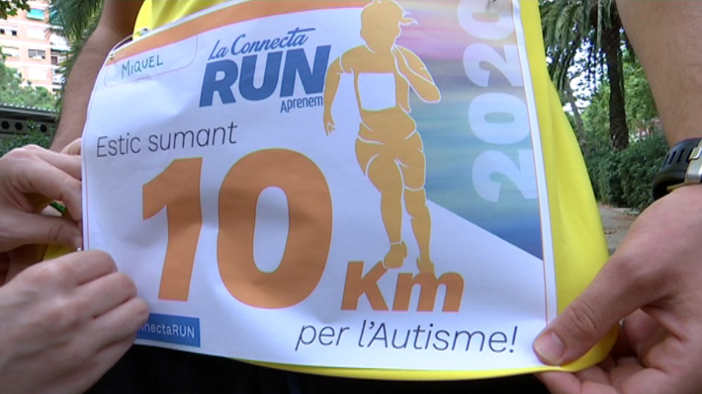 Connecta Run quilòmetres euro autisme