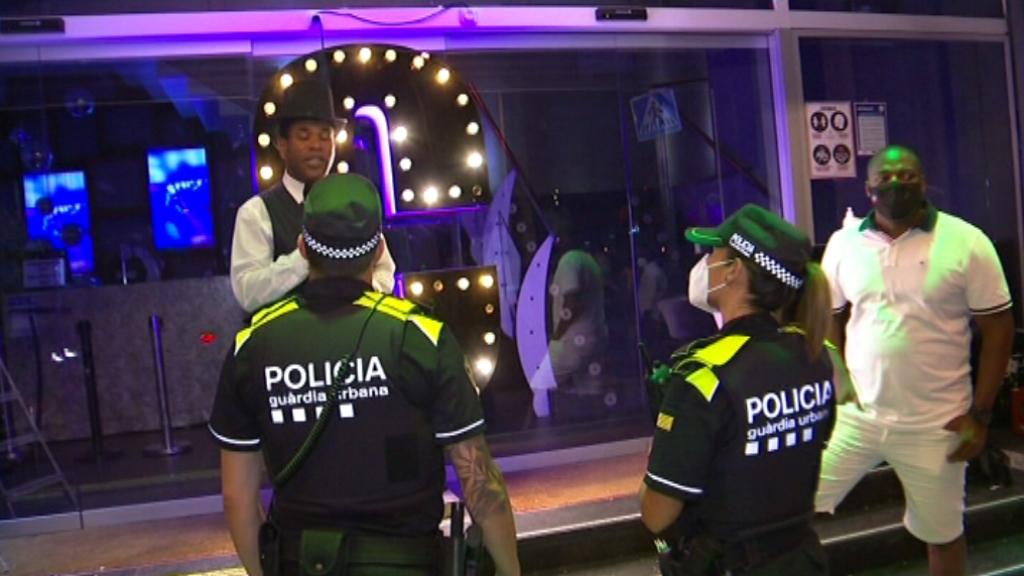 Dispositu policial port olimpic