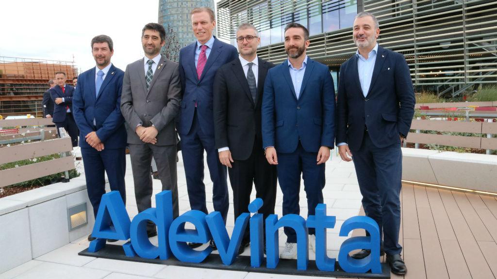 Imatge d'arxiu de la inauguració de la seu internacional d'Adevinta al 22@ de Barcelona