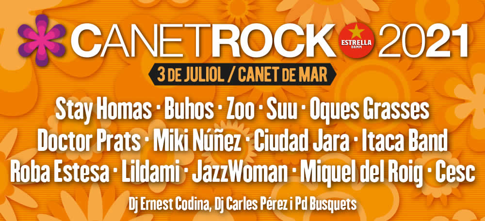 canet rock 2021