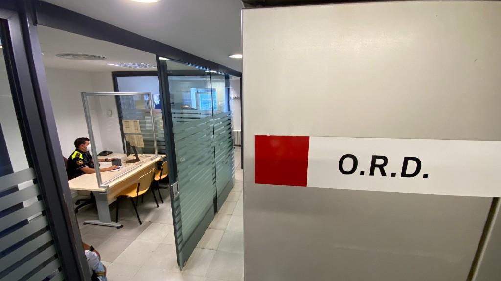 oficina denúncies Guàrdia Urbana