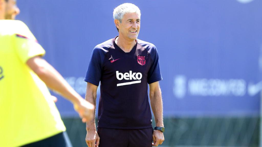Setién ha parlat abans del FCB - Osasuna