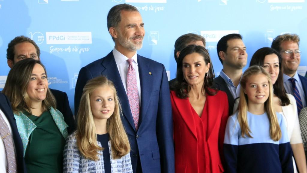 reis Felip VI, Letizia i princesa Elionor