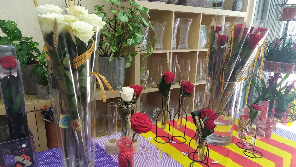 Roses floristeria Sant Jordi
