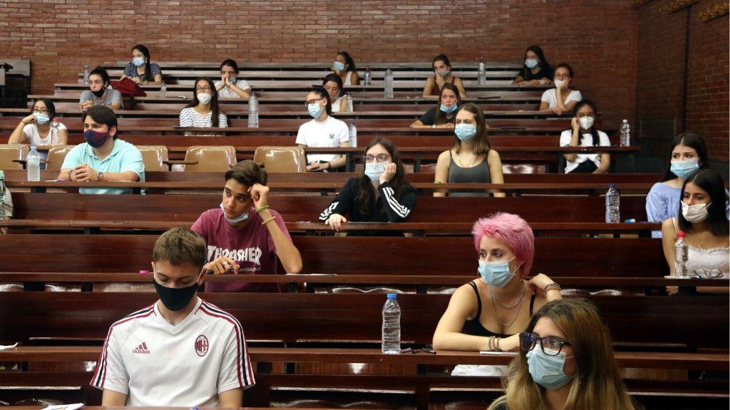 examens selectivitat coronavirus