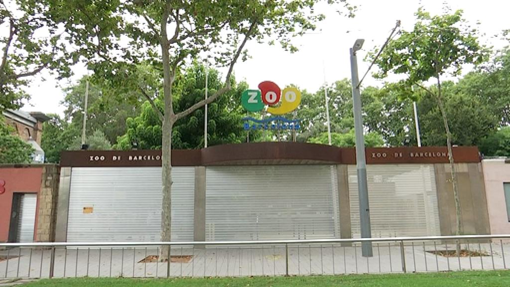 Zoo de Barcelona tancat
