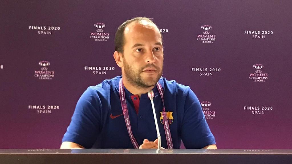 Lluís Cortés post Atlètic Madrid Champions