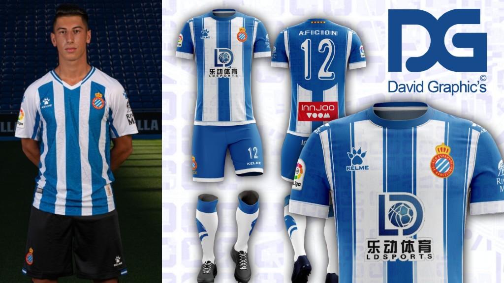 Primera Samarreta RCD Espanyol