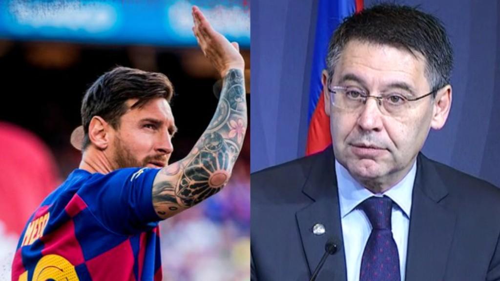 Messi Bartomeu reunió marxar Barça