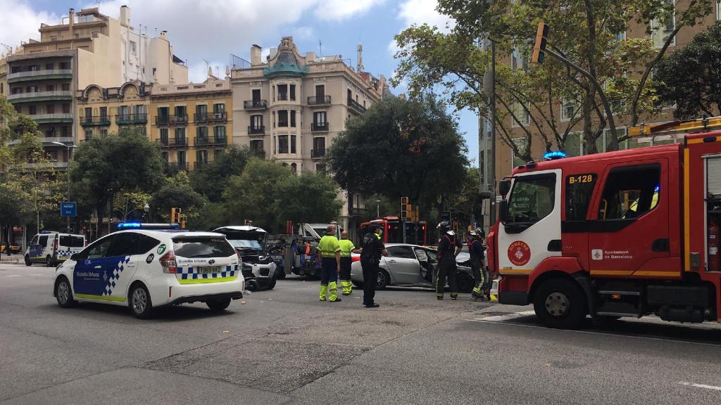 Accident Avinguda Diagonal