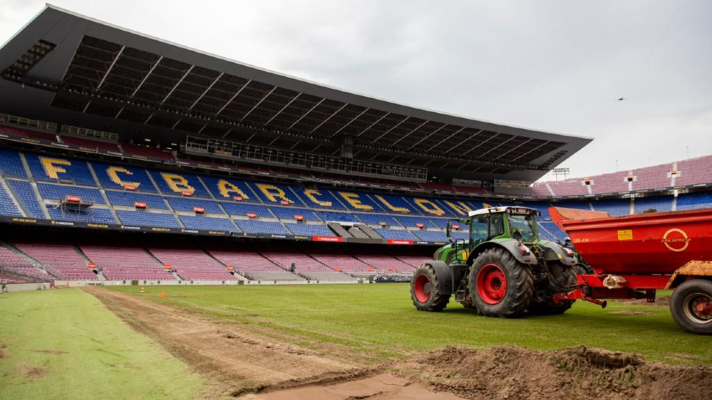 Gespa Camp Nou