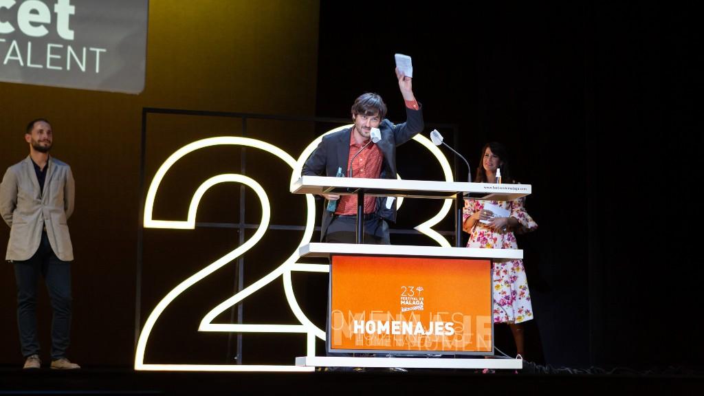 Carlos Marqués-Marcet recull el Premi Màlaga Talent