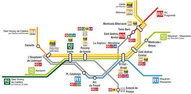 Afectacions a Plaça Catalunya