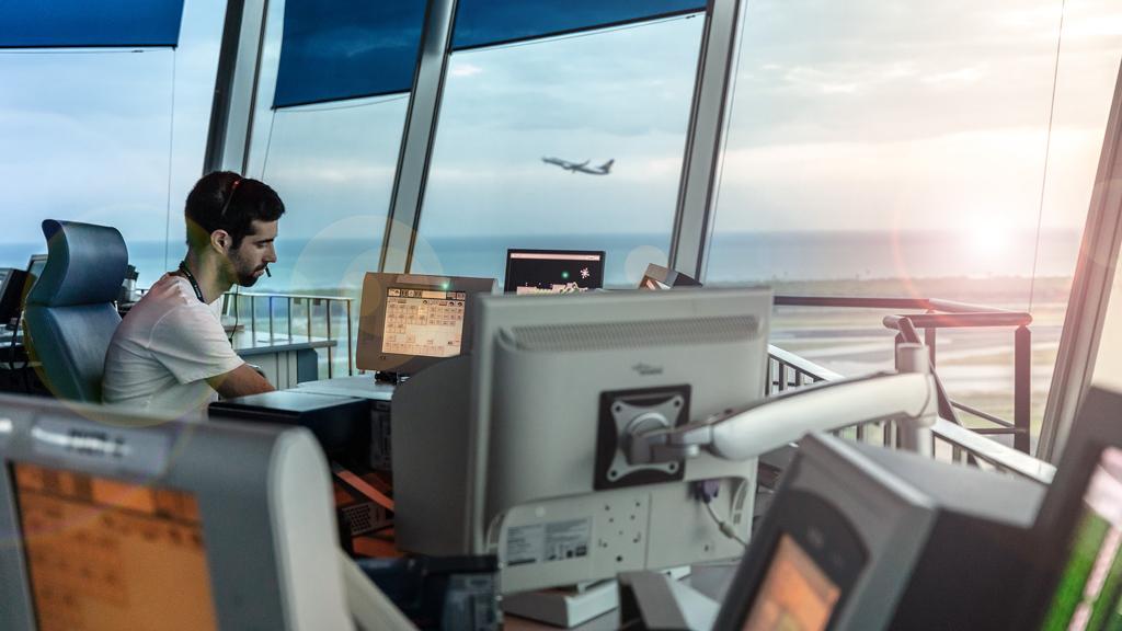 Torre de control de l'Aeroport de Barcelona