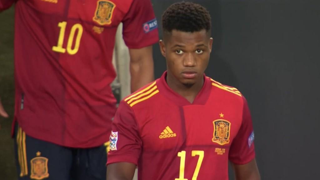 Ansu Fati debuta seleccio espanyola