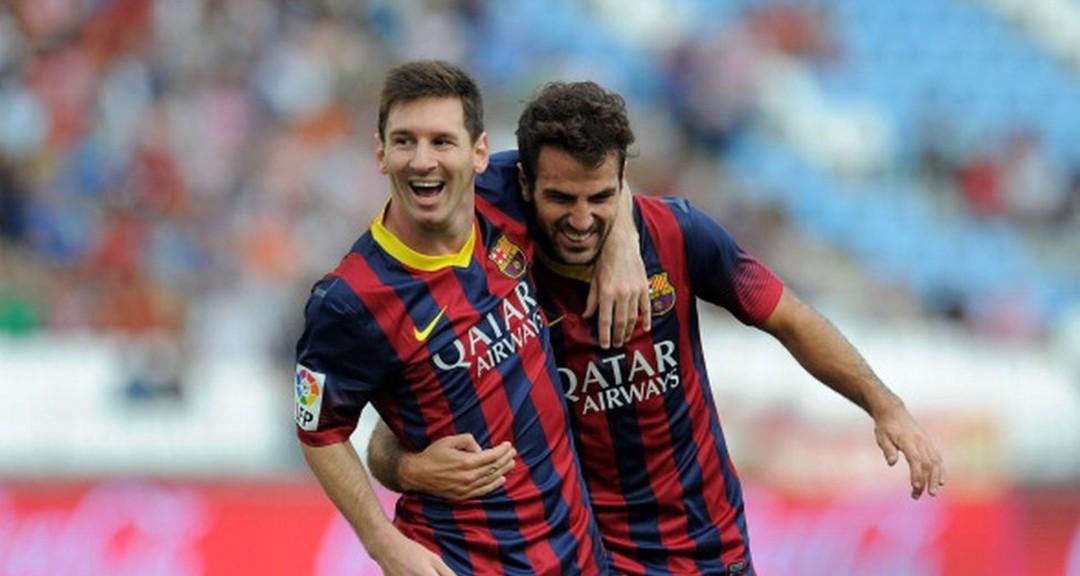 Messi i Cesc Fàbregas