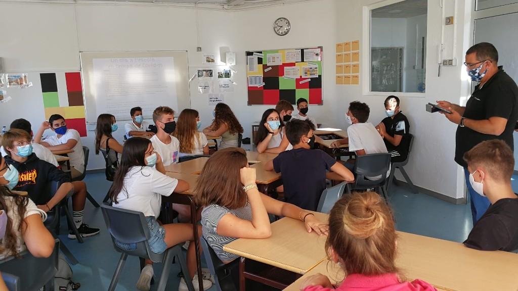 Primer dia escola Barcelona
