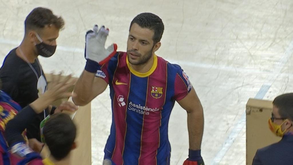 Barça hoquei patins Palafrugell Joao Rodrigues