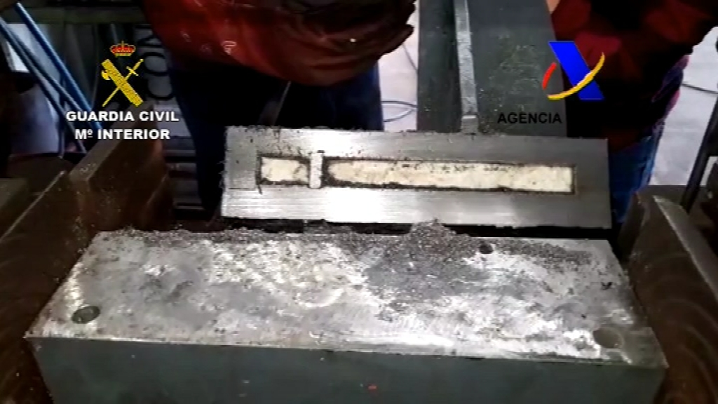 Cocaïna en un contenidor