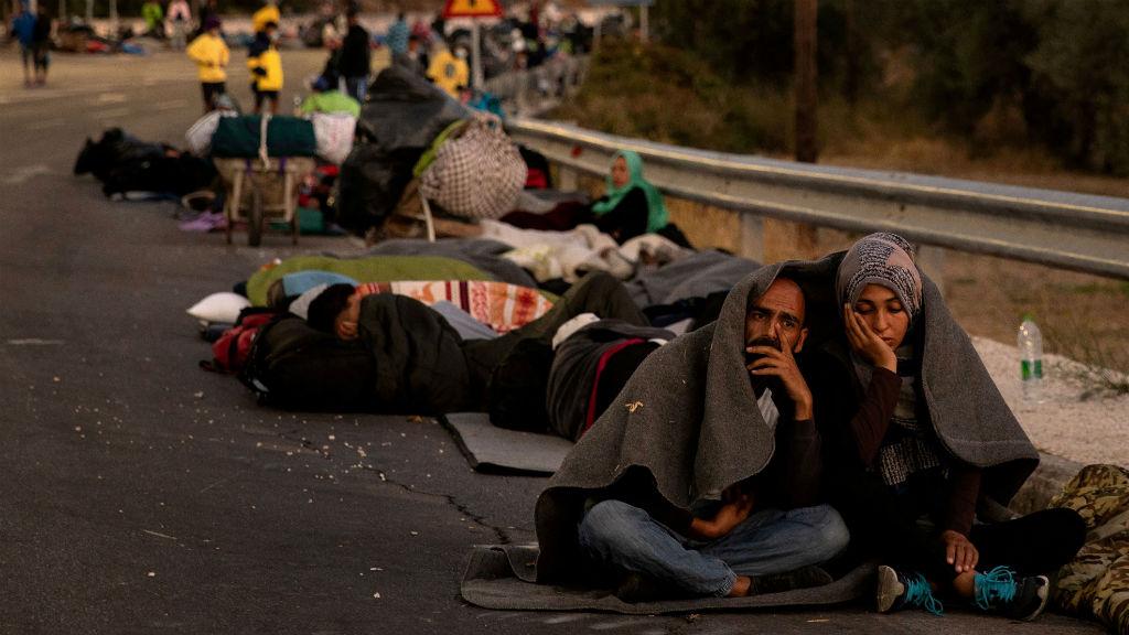 Entitats refugiats Grècia
