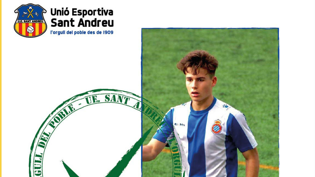 Enric Baquero, nou jugador UE Sant Andreu