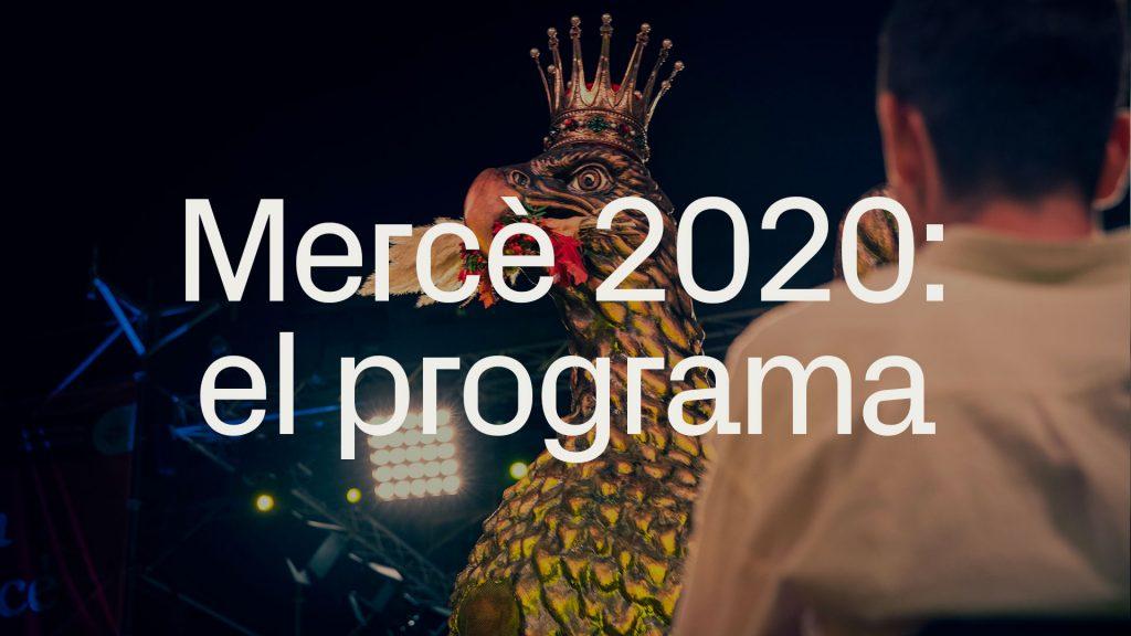 Programa Mercè 2020 Pdf Dates Concerts I Entrades