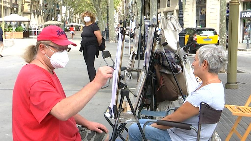 pintor Rambla coronavirus