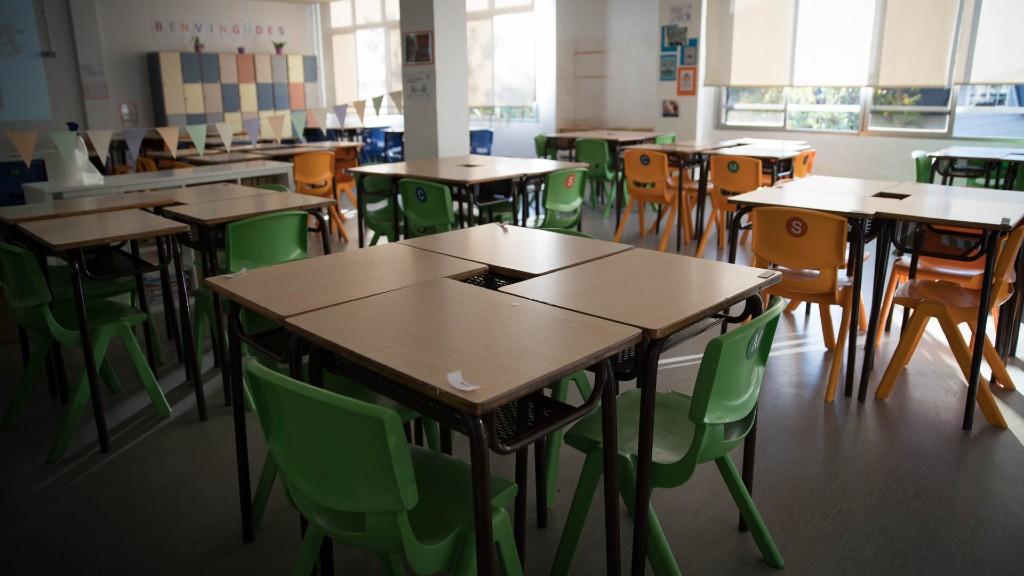 classe buida inici curs escolar
