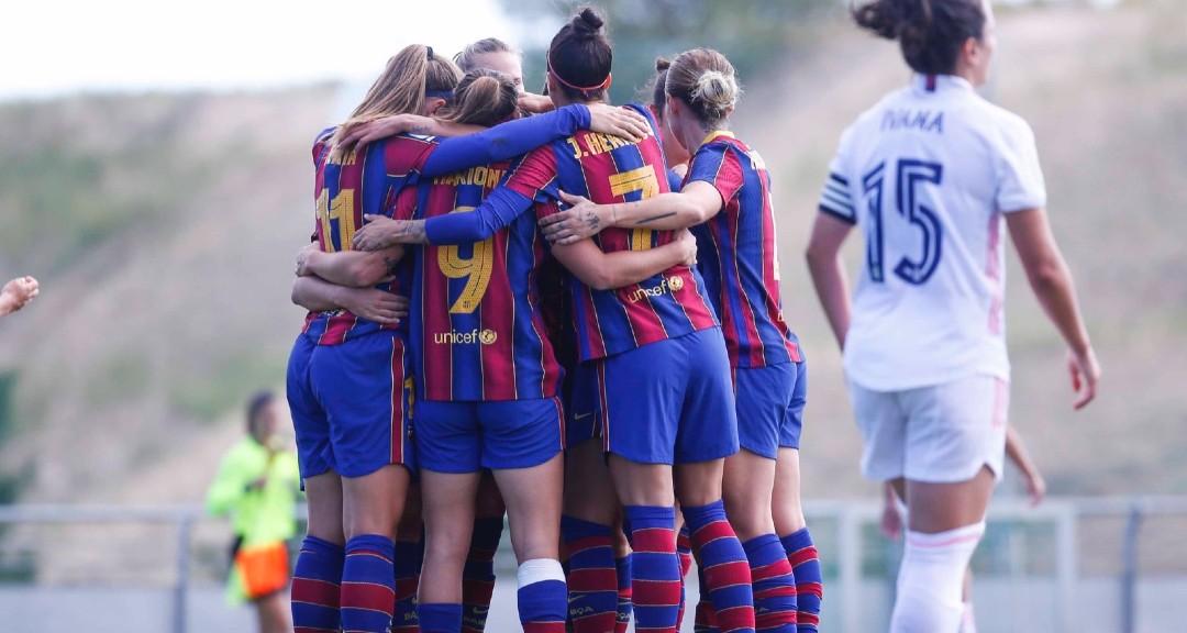 Reial Madrid Barça femení clàssic