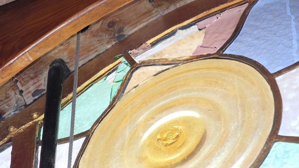 Acte vandàlic Casa Batlló