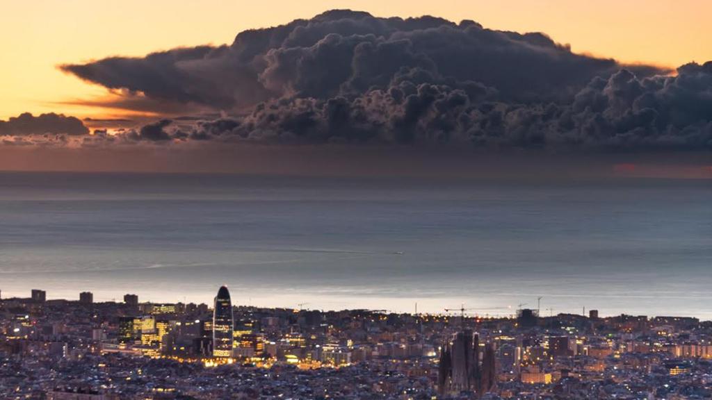 albada del 15 d'octubre de 2020 a l'Observatori Fabra