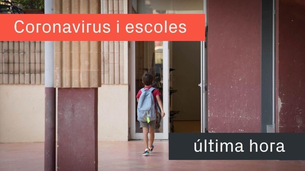 covid escoles catalunya grups confinats