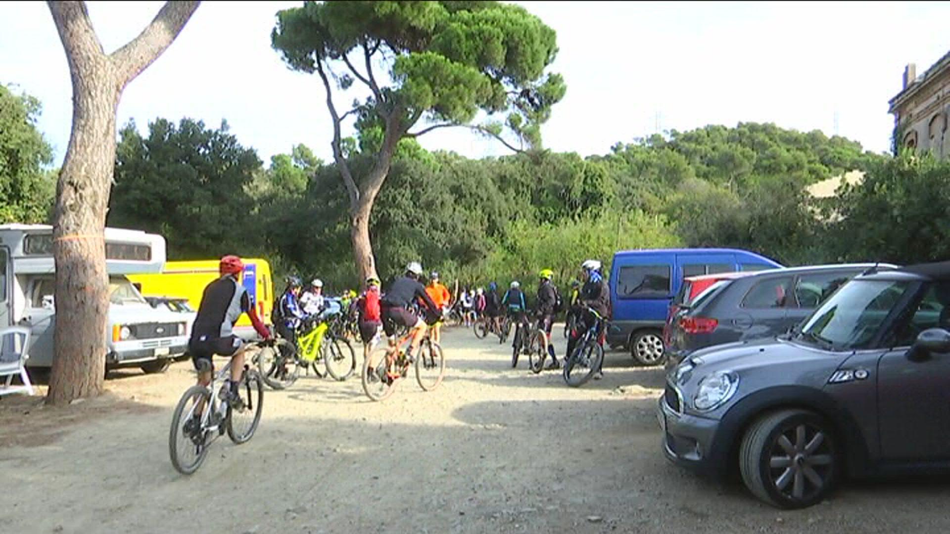 Cotxes accés Parc Collserola