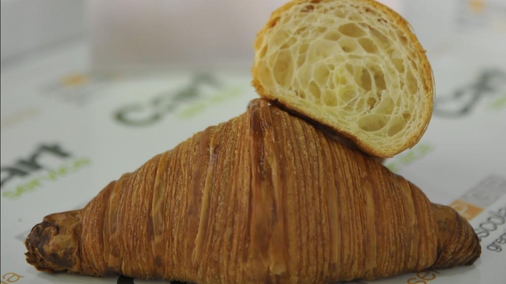 millor croissant mantenga a la pastisseria Brunells de Barcelona