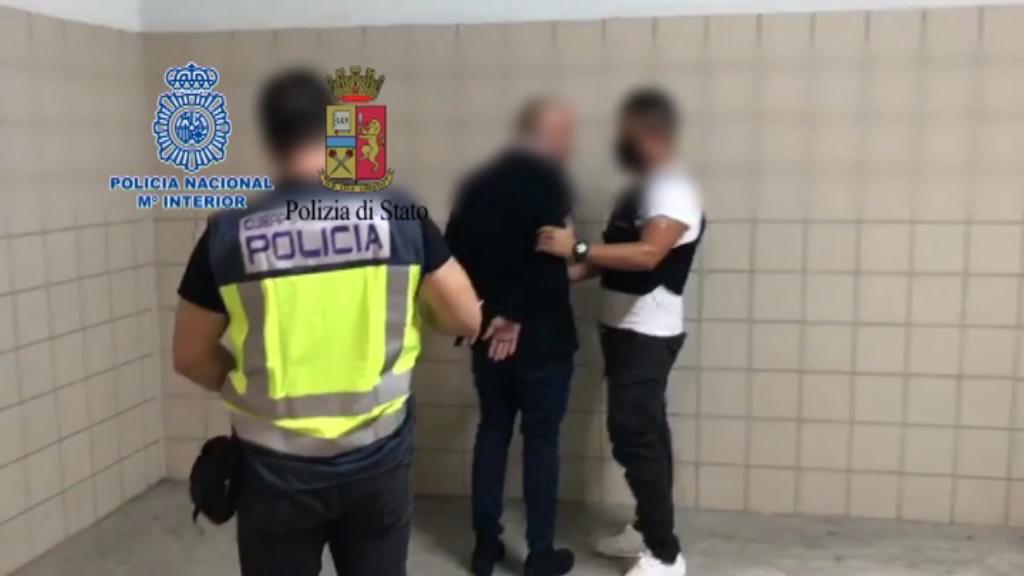 La Policia Nacional amb un detingut per pertànyer a la màfia calabresa