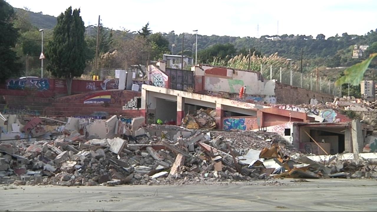 En marxa l'enderroc de l'antiga escola Menéndez Pidal