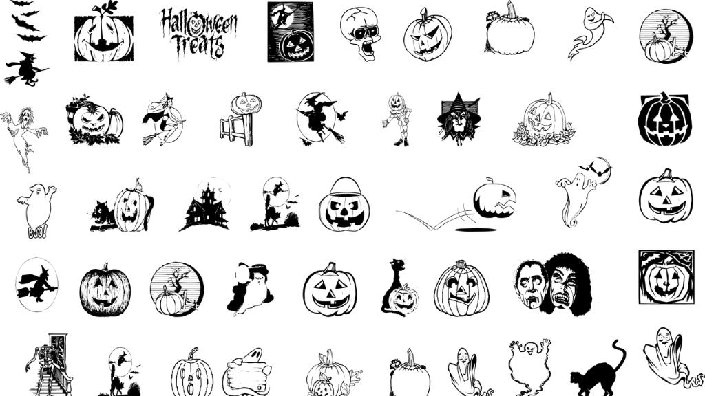 dibuixos i manualitats halloween
