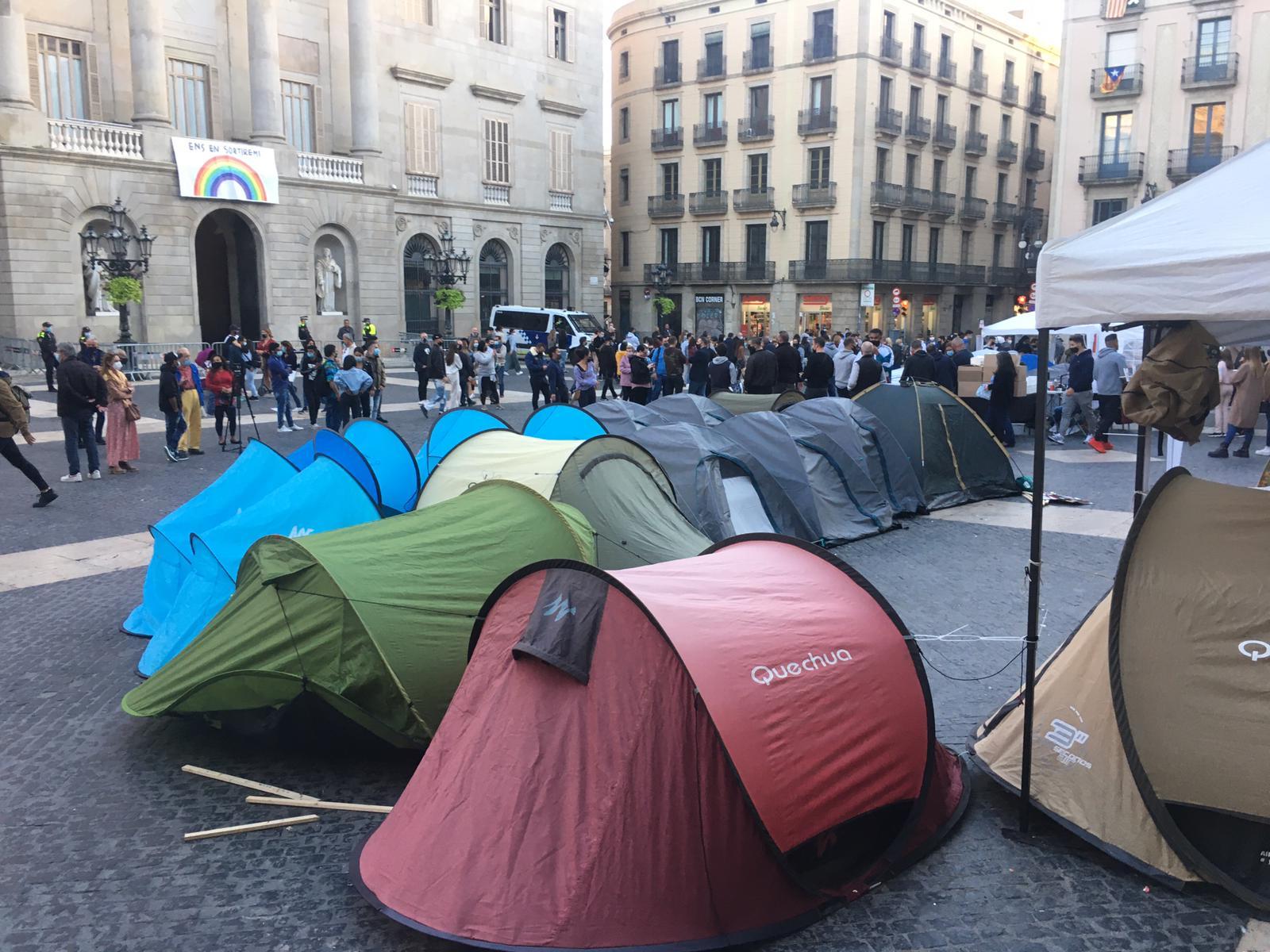 acampada oci nocturn