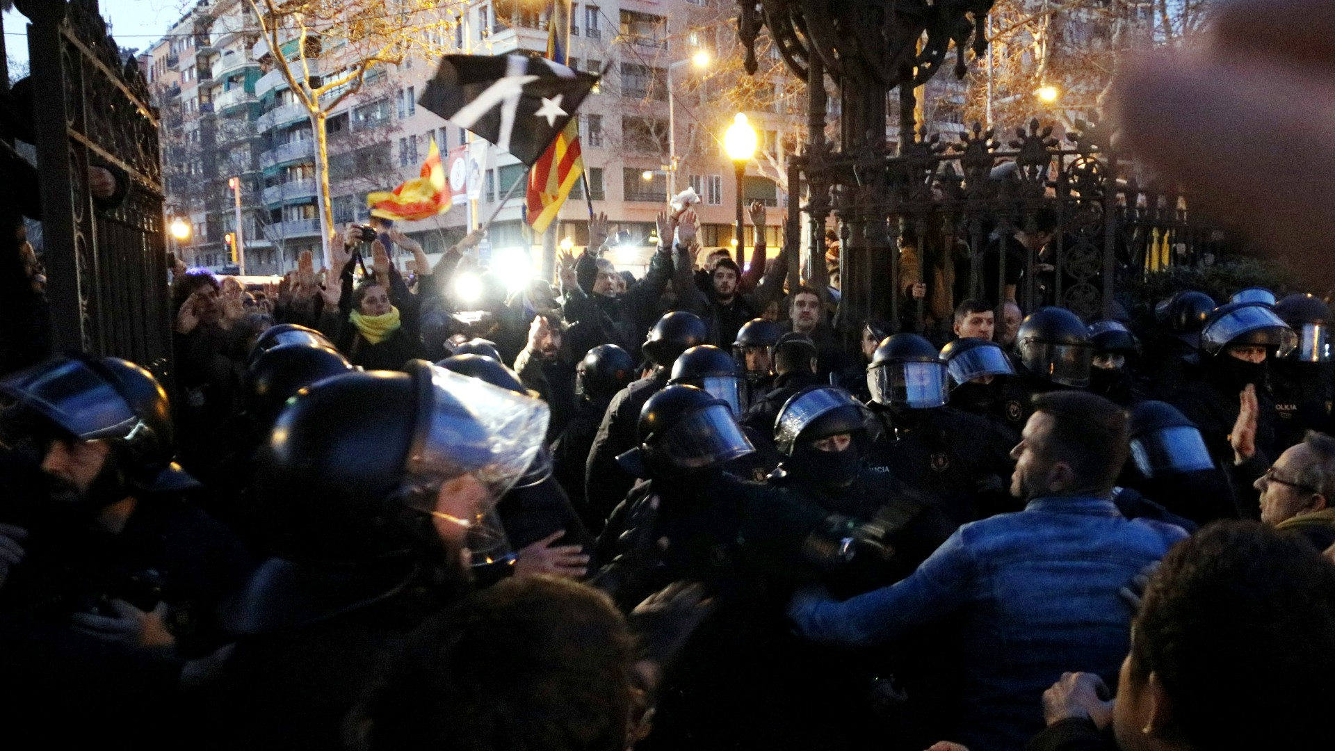 protesta ciutadella investidura fallida puigdemont 30 gener 2018