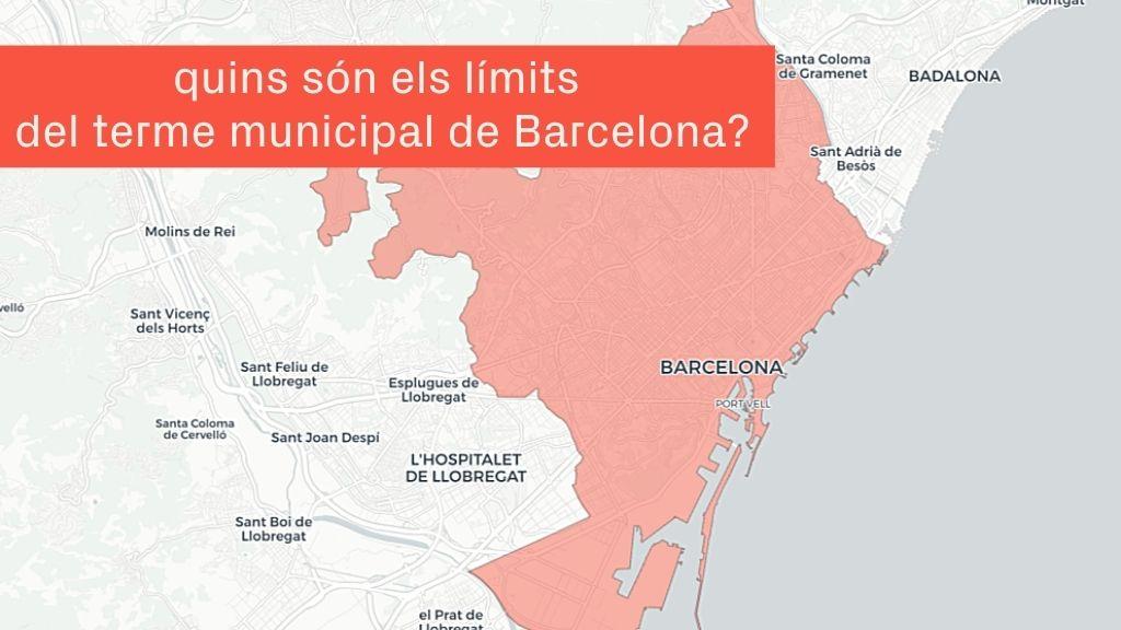 Límit Municipi Barcelona