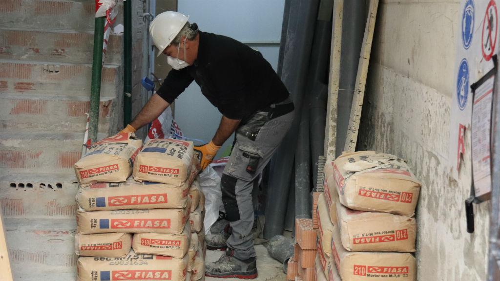 Treballador del sector de la construcció