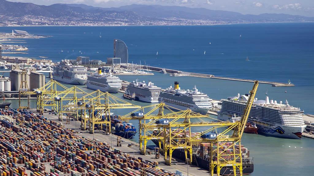 imatge del Port de Barcelona