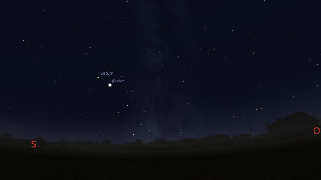 conjunció Júpiter Saturn 16122020