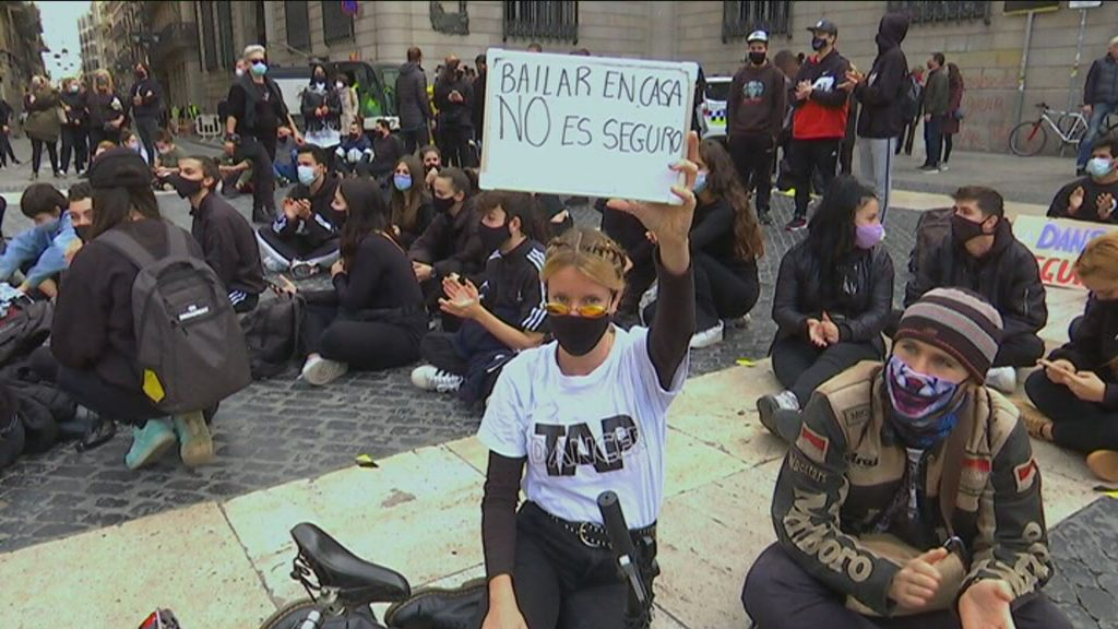 protesta dansa Sant Jaume